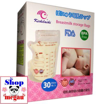 túi trữ sữa kichilachi 100ml