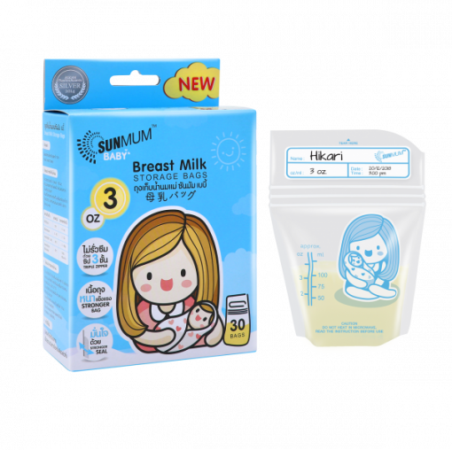 túi trữ sữa sunmum 100ml