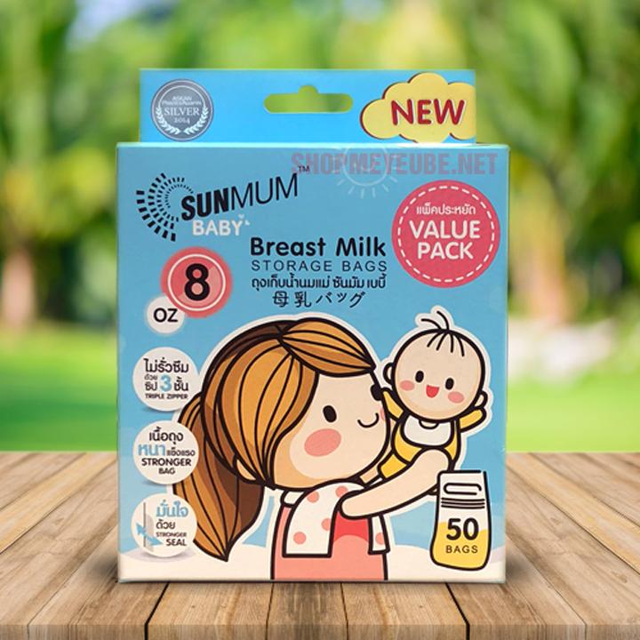 túi trữ sữa sunmum